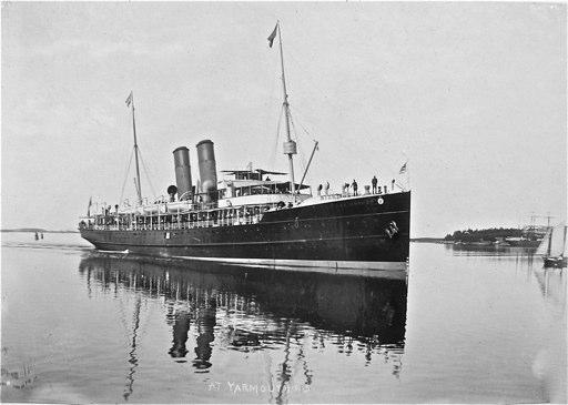 Prince Arthur steamer 1902 Yarmouth