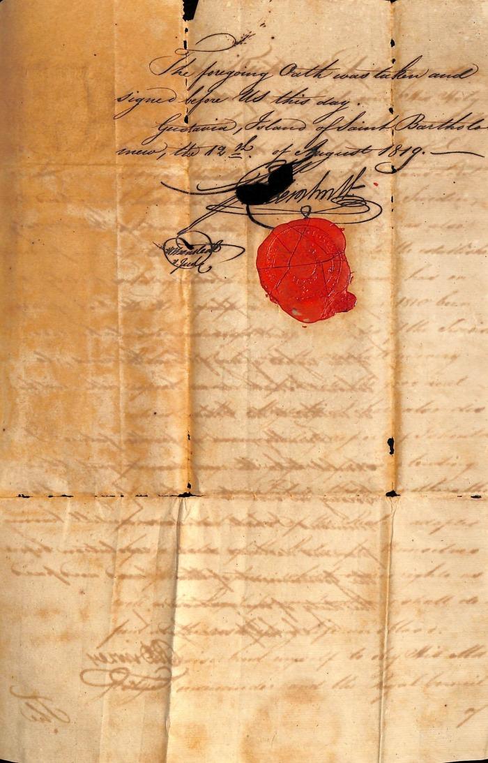 DINZEY Richard oath page 3