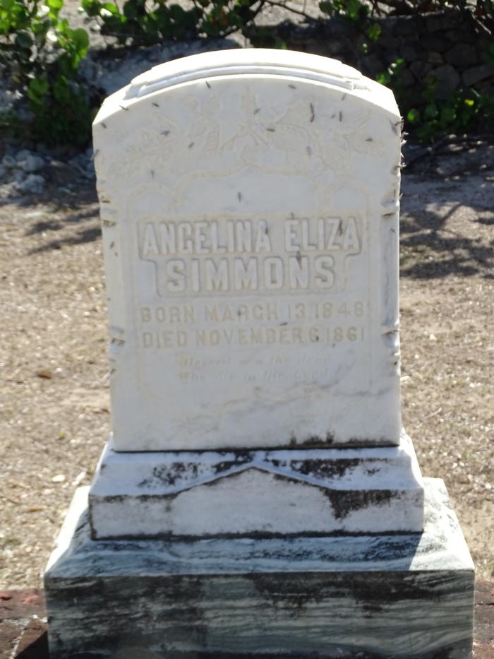 SIMMONS Angelina Eliza