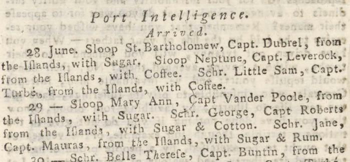 report 05 juillet 1804