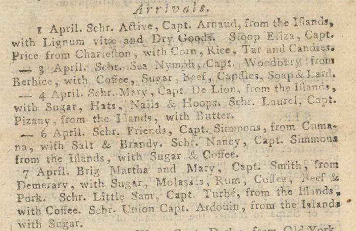 report 09 avril 1804