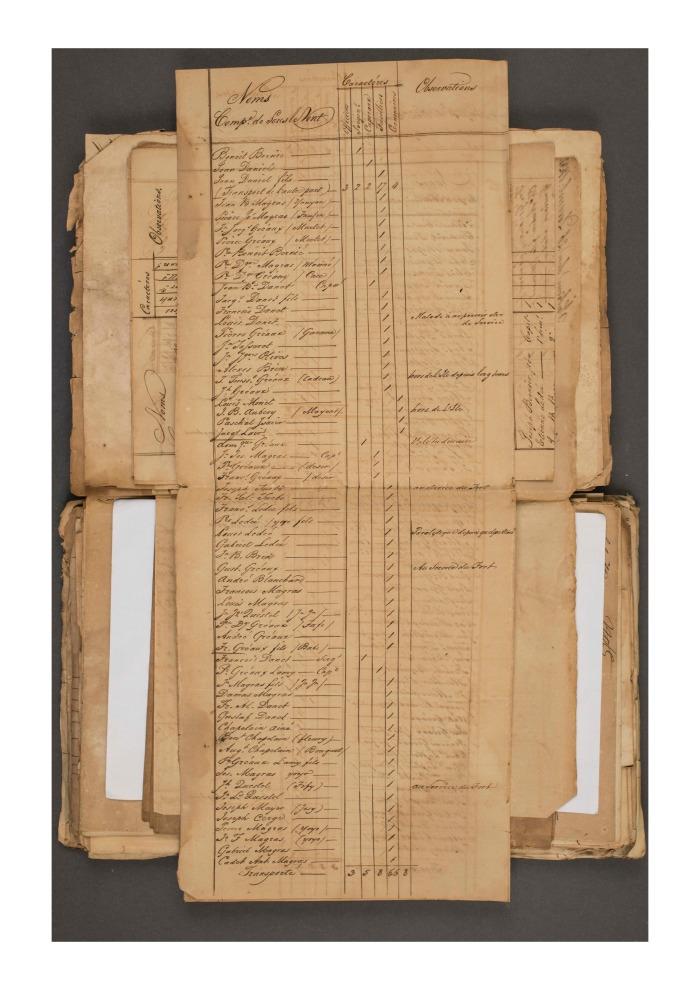 5 FRANOM_FSB_282_ALVIN page 395 etat de toutes les milices en 1831 Sous le Vent page 2